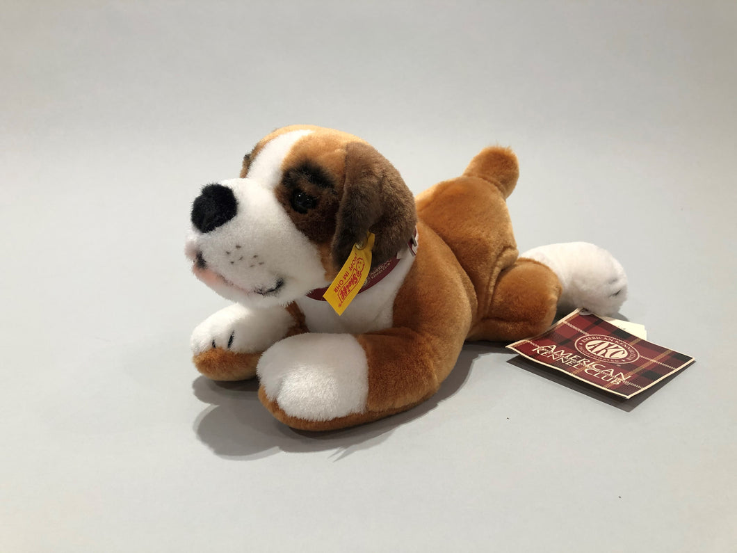 Collector's Edition Steiff and AKC Boxer Puppy Stuffed Animal