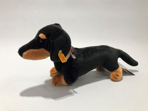 Collector's Edition Steiff and AKC Dachshund Stuffed Animal