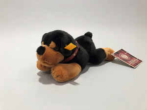 Collector's Edition Steiff and AKC Rottweiler Puppy Stuffed Animal