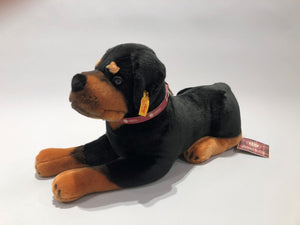 Collector's Edition Steiff and AKC Rottweiler Stuffed Animal