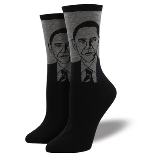 Women's Barack Obama Socks