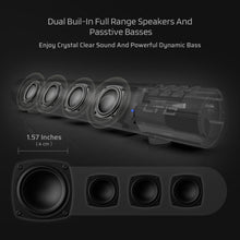 Load image into Gallery viewer, LTC AudioGarden Bluetooth 5.0 Soundbar, Wired/Wireless Computer Speaker