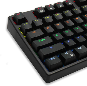 RK ROYAL KLUDGE Sink87G Wired/Wireless TKL Mechanical Gaming Keyboard, No Numbpad Compact 2.4G RGB Wireless Keyboard with Tactile Brown Mechanical Switches, Diversified RGB Backlits and Exceptional Macro Setting Performance
