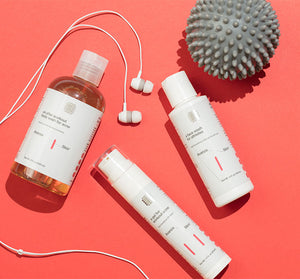 a kit for workout acne