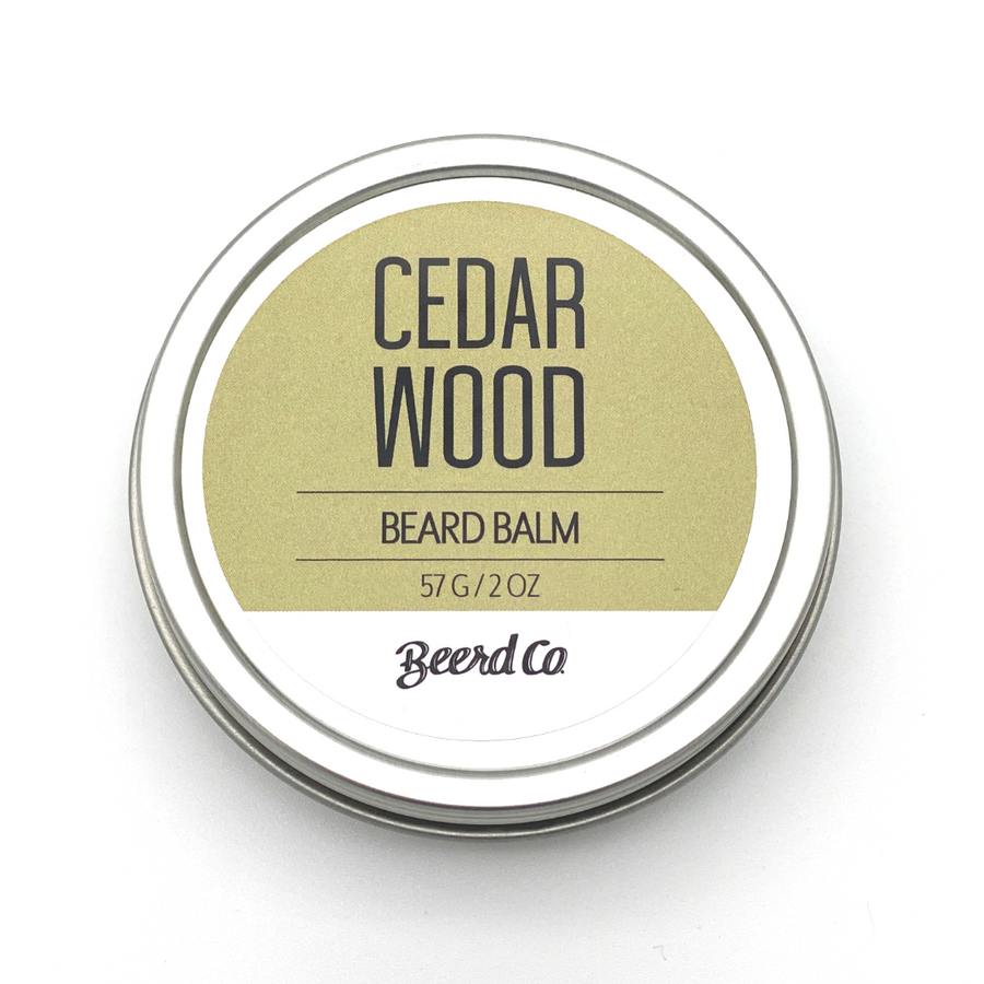 Cedarwood Premium Beard Balm - Beerd Co