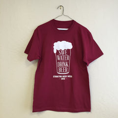 "Stockton, CA - ""Stockton Beer Week 2015"" Tee"