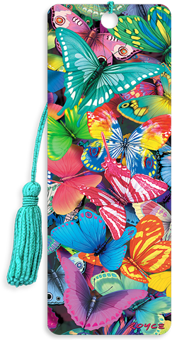 3D Bookmarks: Butterfly Magic