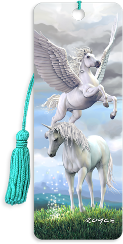 3D Bookmarks: Unicorn