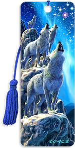 3D Bookmarks: Wolf Choir