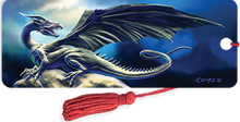 Load image into Gallery viewer, 3D Bookmarks: Black Dragon