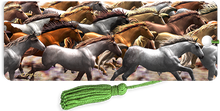 Load image into Gallery viewer, 3D Bookmarks: Running Horses