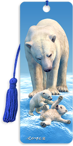 3D Bookmarks: Polar Bears