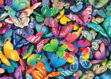 Load image into Gallery viewer, Double-Trouble Puzzle: Butterflies