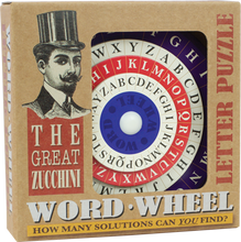 Load image into Gallery viewer, Great Zucchini: Word Wheel Puzzle