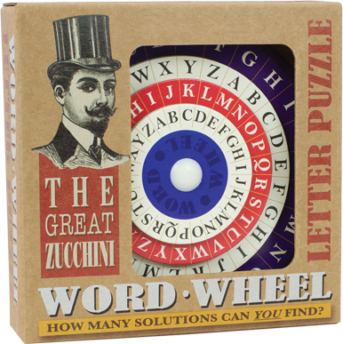 Great Zucchini: Word Wheel Puzzle