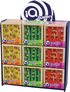 IQ Buster Labyrinth Puzzles Display