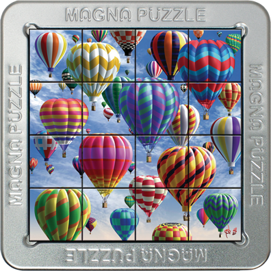 3D Magna Puzzles: Balloons