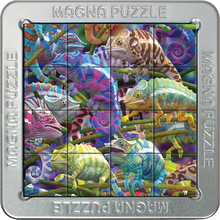 Load image into Gallery viewer, 3D Magna Puzzles: Chameleons