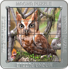 Load image into Gallery viewer, 3D Magna Puzzles: Owls