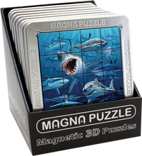 Load image into Gallery viewer, 3D Magna Puzzles: Sharks