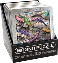 Load image into Gallery viewer, 3D Magna Puzzles: Geckos