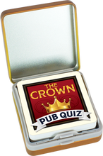Load image into Gallery viewer, Pint-sized Pub Quiz Tins Display
