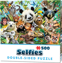Load image into Gallery viewer, Double-Sided Selfie Puzzles: Jungle