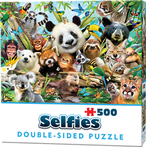 Double-Sided Selfie Puzzles: Jungle