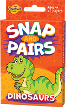 Load image into Gallery viewer, Snap Pairs Dinosaurs