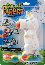 Load image into Gallery viewer, Squeeze Popper: Unicorn White