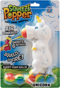 Squeeze Popper: Unicorn White