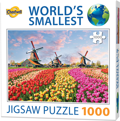 worlds-smallest-puzzles-dutch-windmills