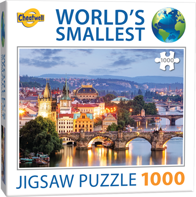 World's Smallest: Prague Bridges
