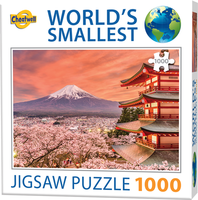 World's Smallest: Mount Fuji
