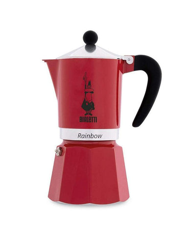 Rainbow Moka Express - Red