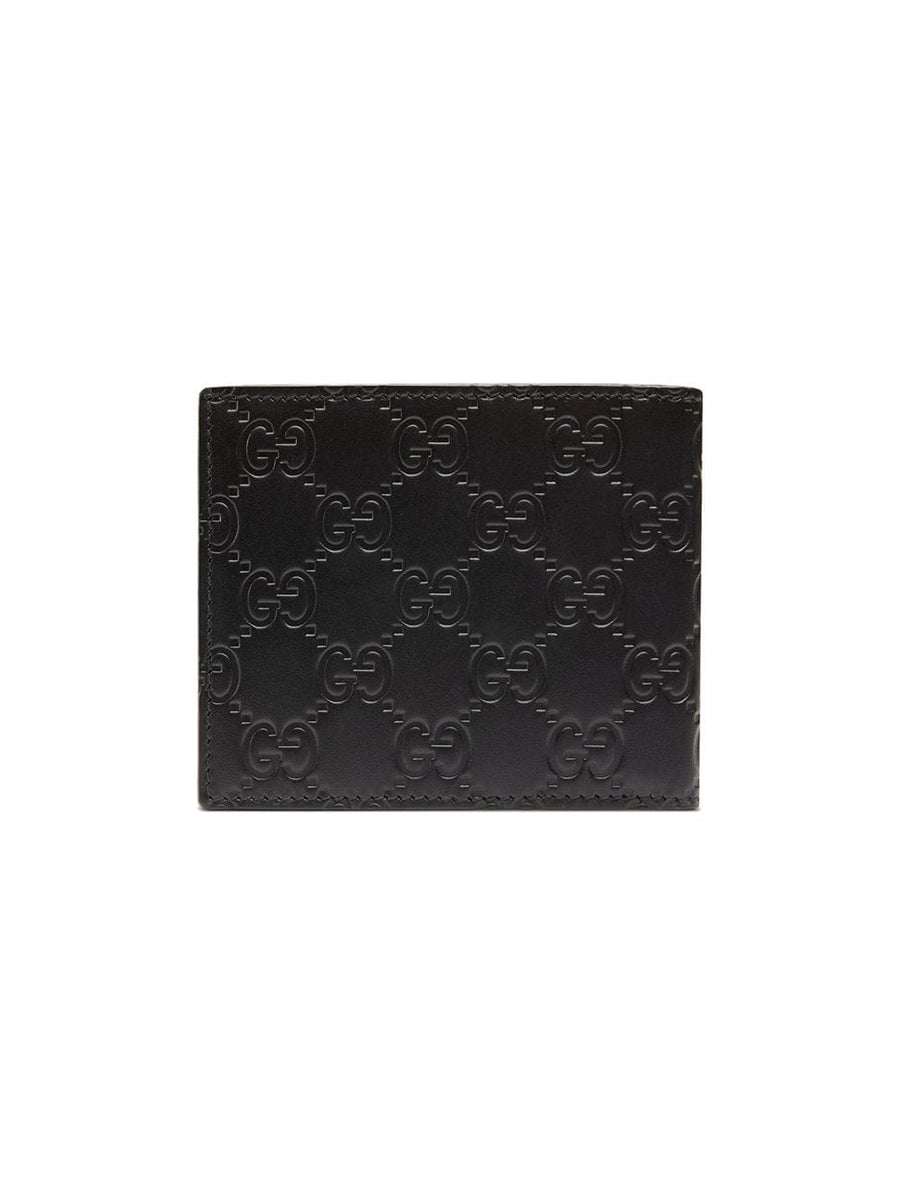 Black Gucci Wallet With LA Angels Patch