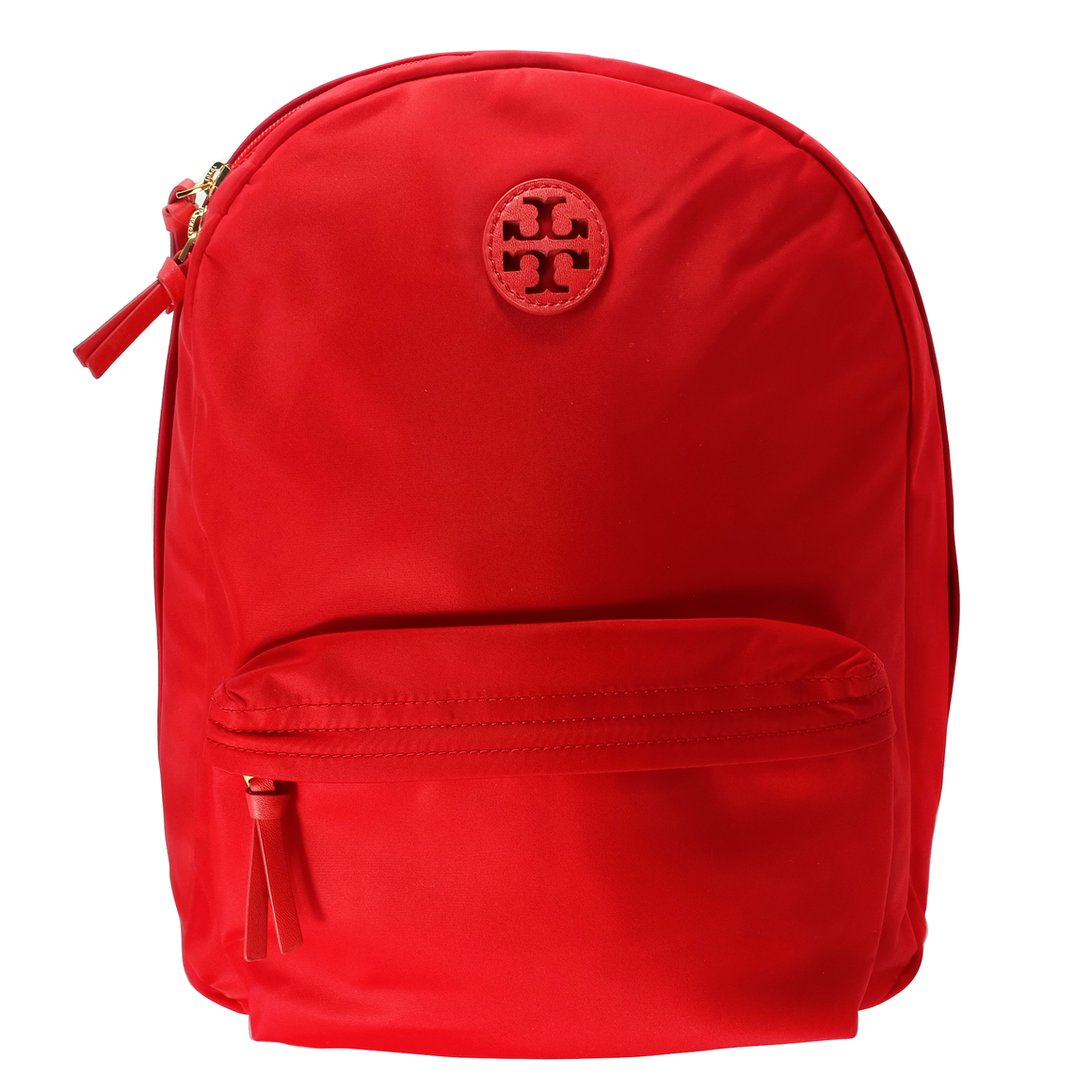 Tory Burch Ella Brilliant Red Nylon Backpack