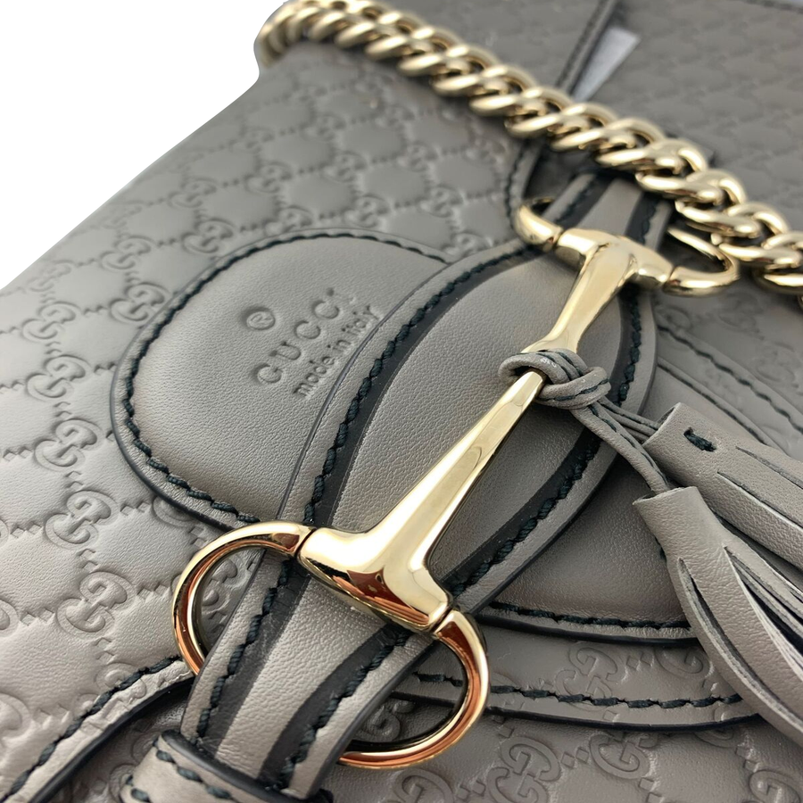 GUCCI Microguccissima Medium Emily Bag w/ Tags