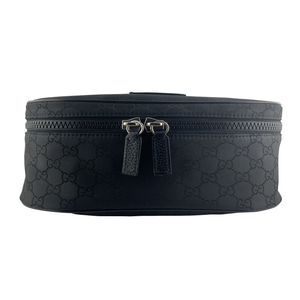 GUCCI Fanny Pack Belt Bag Monogram GG Black