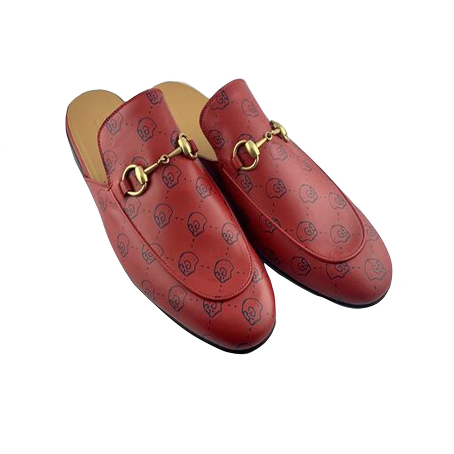 Gucci Ghost GG Princetown Mule Loafers
