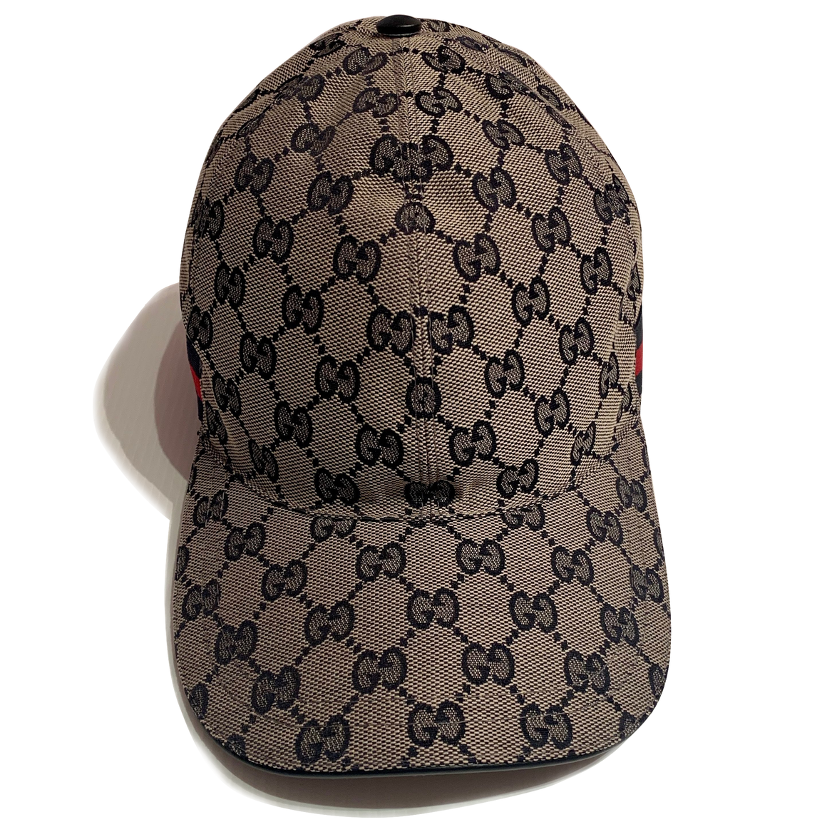 GUCCI GG Canvas Baseball Cap w/ Tags