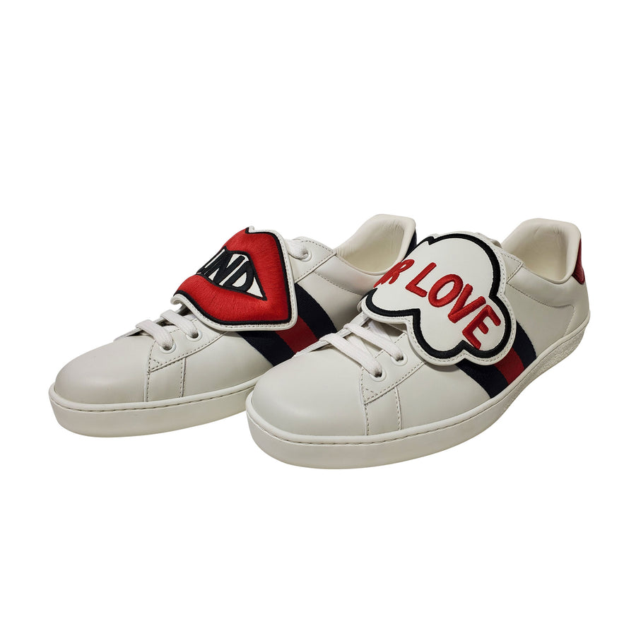"Gucci Ace ""Blind For Love"" Sneakers"