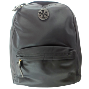 Tory Burch Ella Black Nylon Backpack