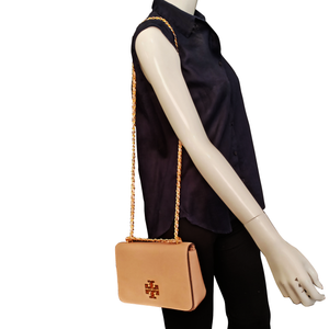 Tory Burch Britten Adjustable Leather Shoulder Bag