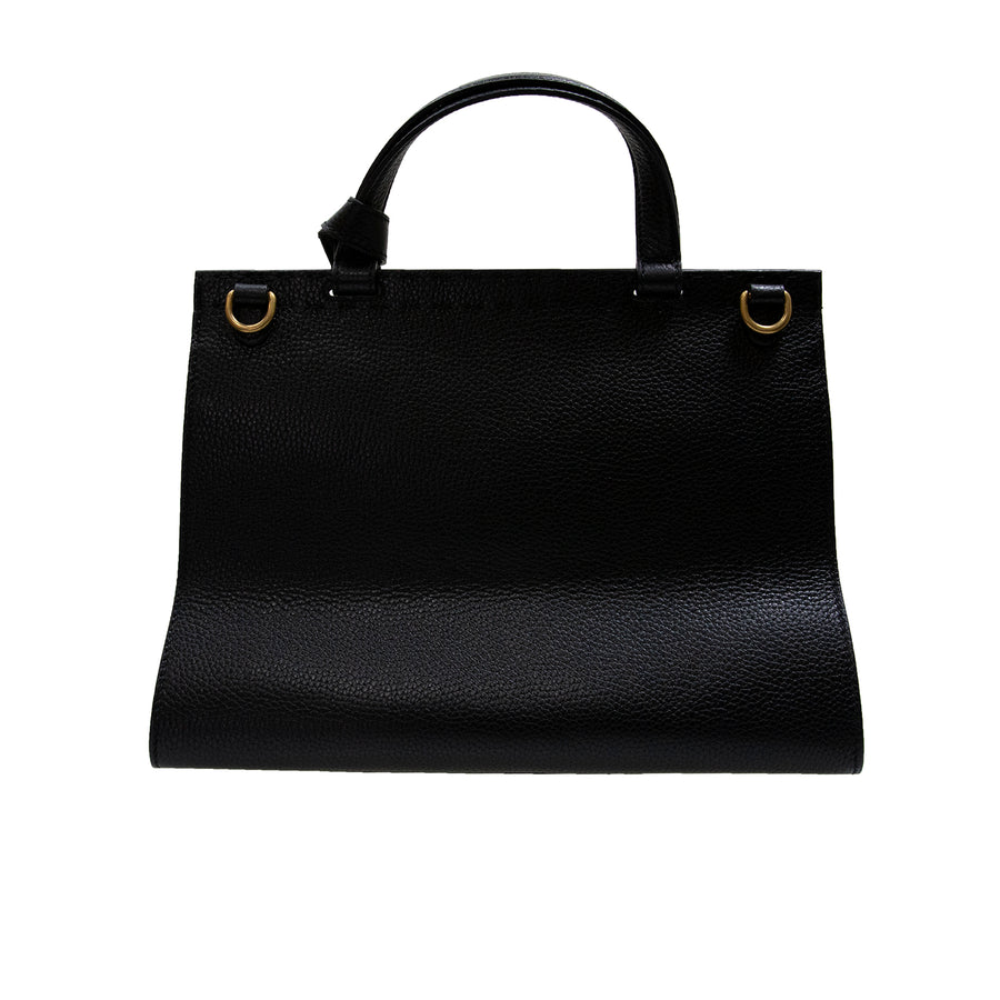 Gucci Women's Pebbled Leather Bag Black