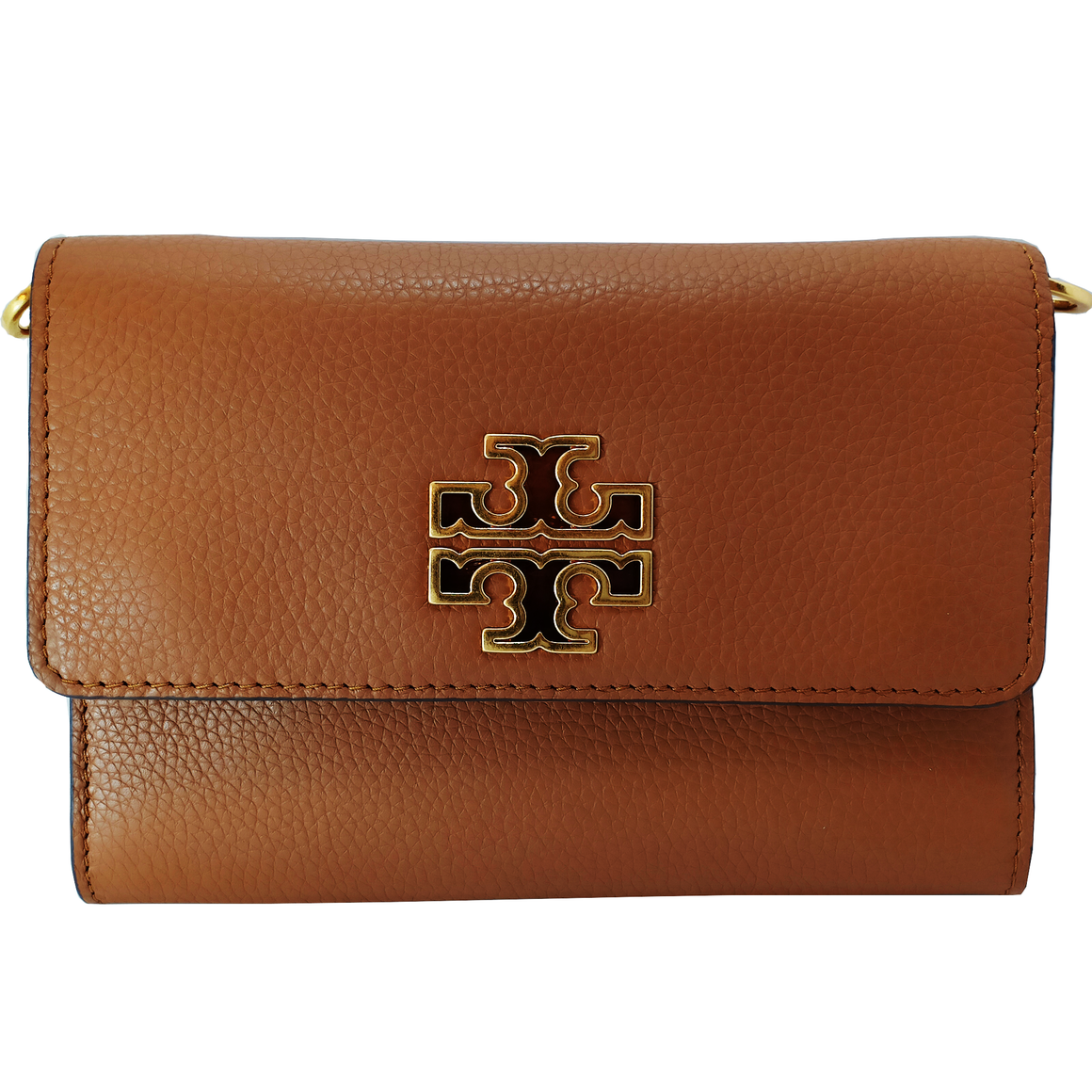Tory Burch Britten Chain Wallet Cross Body