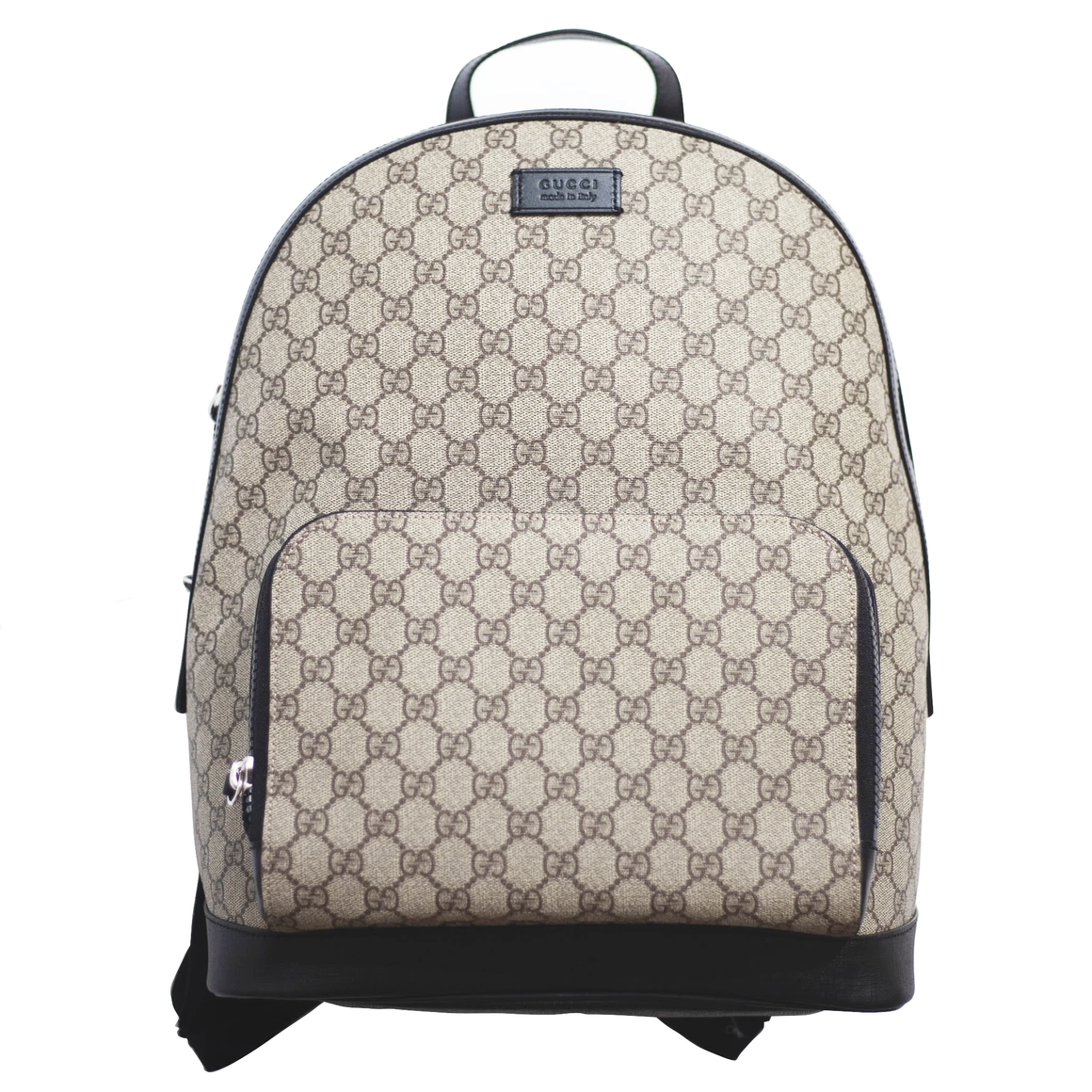 GUCCI Signature Backpack - Brown