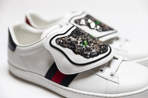 Gucci Ace sneakers with removable patches (Mystic Cat)