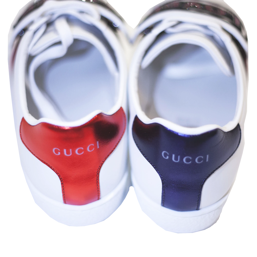 GUCCI Ace Sneaker With Removable Love Patch