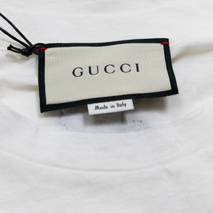 T-Shirt with Gucci Stripes and Logo